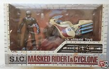 Masked Kamen Rider No.1 & Cyclone S.I.C. Vol. 14 Action Figure Bike Bandai SIC