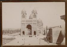 France, Marseille, La Cathédrale Sainte-Marie-Majeure, ca.1900, Vintage citrate