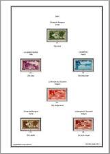 Album de timbres Viet-Nam 1951-1954  à imprimer