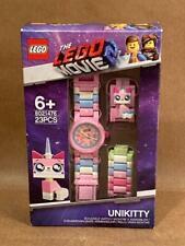 NIB LEGO Kids LEGO MOVIE UNIKITTY Minifigure Interchangeable Watch 23pc 8021476