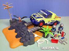 (O4421.2) playmobil 4 x4 rally du désert ref 4421