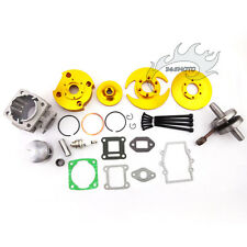 Gold Big Bore Kit 44mm Cylinder Piston For 47cc 49cc Mini Dirt Pocket Bike ATV
