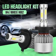 1pc H4 9003 8000LM 6000K Car COB LED Conversion Headlight Bulb Hi/Lo Beam White