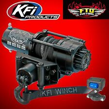 KFI SE25 Stealth 2500lb Winch w/Synthetic Cable Polaris RZR UTV SE25