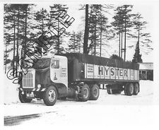 """FREIGHTLINER No. !"" 1950 Model 900 Sleeper, HYSTER CO. 8x10 B&W Glossy Photo"
