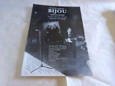 BIJOU - Publicité / Advert VINTAGE 70'S !!! THE PLEASERS !!!