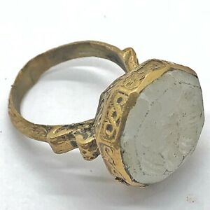 Antique Islamic Intaglio Ring - Post Medieval Ottoman Empire Style Middle East :
