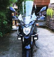 Honda CB500X 2013-2015 Tall Clear & Light Smoke Touring Windshield Windscreen