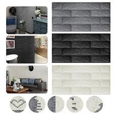 3D Brick Foam Wallpaper Peel Stick Self Adhesive Sticker Panel Wall Ceil Tile US
