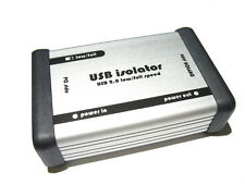 USB ISOLATOR - USB 2.0 ISOLATION WITH INTEGRATED INSULATED DC/DC CONVERTER