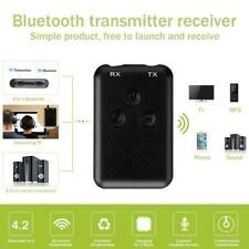 Receptor transmisor inalámbrico Bluetooth 2in1 A2DP Adaptador Aux Audio Música estéreo
