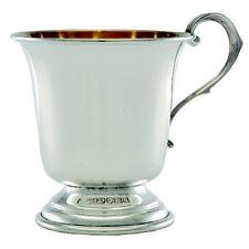 STERLING SILVER CHRISTENING CUP.  ENGLISH MADE HALLMARKED SILVER CHRISTENING MUG