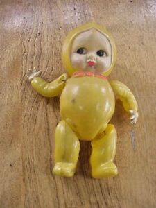 Vintage Occupied Japan Celluloid String Jointed Baby Boy Toy