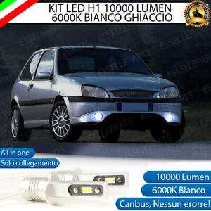 KIT LAMPADE FENDINEBBIA LED FORD FIESTA IV LAMPADE A LED H1 10.000 LUMEN 6000K