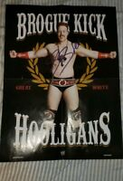 Sheamus Signed Folded Poster  Photo Proof Raw Nxt Wwe wwf wcw nxtuk smackdown