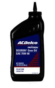 Differential Oil-1 Quart Rear ACDelco GM Original Equipment 10-4108