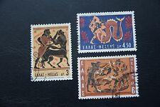Briefmarken Griechenland Gestempelt Minr 1190 1169-1172 Satz 4 Werte ........