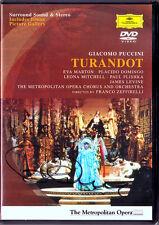 DVD Placido DOMINGO Signiert PUCCINI TURANDOT Eva Marton LEVINE Leona Mitchell