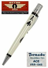 Retro 51 #VRR-1365 / Ace of Spades Rollerball Tornado Pen