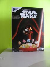 2015 General Mills Star Wars The Force Awaken Darth Vader Cereal Box NEW