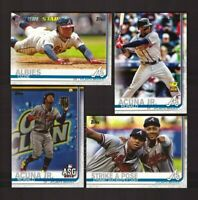 2019 Topps ATLANTA BRAVES Team Set with Update 33 Cards - Austin Riley RC
