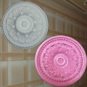 Stuck Negativform Gießform Silikonformen für Gips Verzierung Dekor Relief (73)