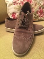 Brand New HOTTER Mens suede Brogue Shoes - UK Size 9