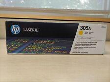 Genuine HP 305A Print Cartridge CE412A Yellow Laserjet 300 400 Black Box New