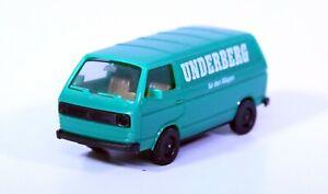Herpa 1:87 VW BUS - Kastenwagen UNDERBERG GRÜN ohne Verpackung (RB9473)