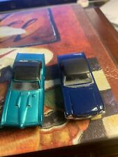 slot cars ho scale 1970-now Pontiac & mustang body blue only see picture