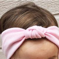 Girls Kids knotted Hairband Baby Headband Turban Knot Head Wrap