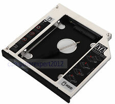 SATA 2nd HDD SSD Hard Drive Case Caddy for HP Pavilion DV6 7030TX G4 G4-2275dx