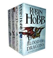 Robin Hobb Trilogy 4 Books Set The Rain Wild Chronicles Collection Dragon Haven