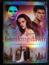 DVD The Twilight Saga Breaking Dawn Part 1 Special Edition 2 Dischi ITALIANO