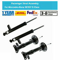 4PCS Rear Front Shock Absorber Fit Benz C-Class W204 C350 E-Class C207 E400 E500
