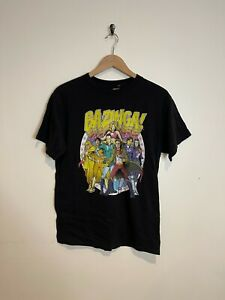Officially Licensed TBBT Big Bang Theory Prefix Heads Men/'s T-Shirt S-XXL Sizes