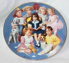 "The Danbury Mint ""Come Gather 'Round"" Children Of The Week (G111143-1 J E-2)#59"