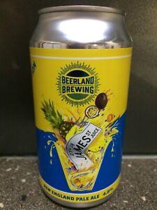 1 X 375ml Beerland Brewing - James St Juice Craft Beer Can