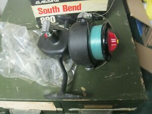 Gladding South Bend 880 Spinning Saltwater Fishing Reel Vintage New In Box USA