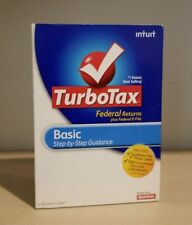 Intuit TurboTax 2010 Federal Basic (Windows & Mac) NEW