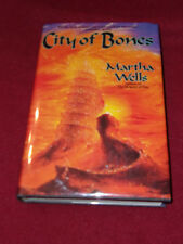 City of Bones by Martha Wells (1995, Hardcover) SIGNED first print Near Fine