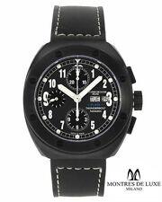 Montres de Luxe Milano T7000 Black PVD Automatic Chronograph ETA 7750 ITALY MADE