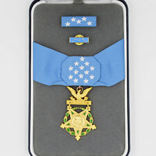 Cased US Order Badge Medal of Honor Army MOH, Ribbon Bar, Selten, Top Rare!!