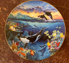 Orca Ballet, R. Koni From The Symphony Of The Sea- The Hamilton Collection Plate