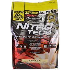 MuscleTech Nitrotech 4.54kg Vanilla Protein Performance Series Whey NITRO Tech