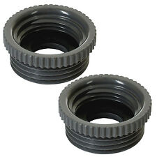 2x Gardena 5305-20 adaptador 33,3 mm g1 exterior - 26,5 mm G 3/4 interior manguera de agua