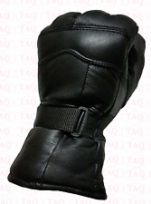 winter gloves original leather motorbike driving fashion