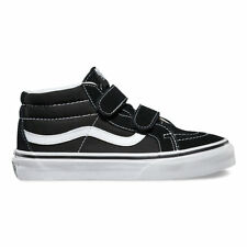 67de2139b2 VANS Sk8-mid Reissue V Kids Vn00018t6bt Black White Suede Canvas Shoes Youth  Blacks 3