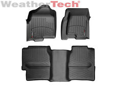 WeatherTech Truck FloorLiner for 99-07 Silverado/Sierra - 1st & 2nd Row - Black