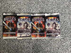 Doctor Who Battles in Time Exterminator x 2 + 2 x Annihilator Sealed Packs